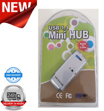 USB 4 Port 1.1 Mini Slim Hub