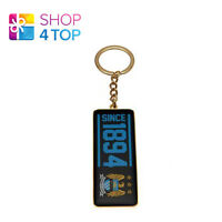 MANCHESTER CITY FC CREST KEYRING CHAIN METAL OFFICIAL FOOTBALL SOCCER CLUB NEW