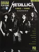 Metallica: 1983-1988 - Drum Play-Along Volume 47 (Hal Leonard Drum Play-Along),