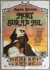 Affiche MORT SUR LE NIL Death on the nile PETER USTINOV Mia Farrow EGYPTE 60x80*