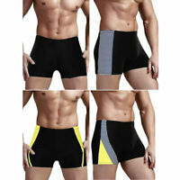 Men's Swim Boxer Briefs Swimming Trunks Shorts Swimwear Pants Underwear Swimsuit