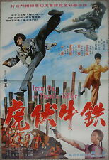 """Chinese Karate Kung Fu IRON OX THE TIGER'S KILLER Movie Poster Film 21x30"""" 70s"""