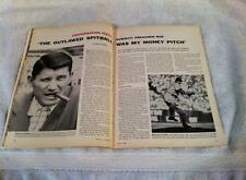 Sports Illustrated 1955 Brooklyn Dodgers PREACHER ROE Article Entire SI Issue