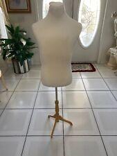 male mannequin dress form torso