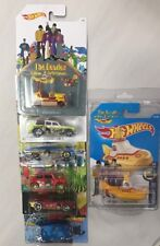 HOT WHEELS THE BEATLES 2015 YELLOW SUBMARINE COMPLETE SET OF 7