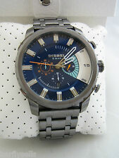 DIESEL WATCH STRONGHOLD DZ4358 ION PLATED STAINLESS STEEL CHRONOGRAPH BNIB