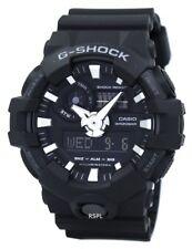 New Casio G-Shock Black Resin Strap Men's Watch GA700-1B