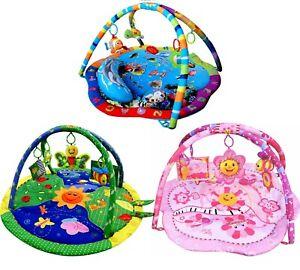 Light & Musical Baby Boy Girl Playmat Gym Musical Activity Play Mat Mats Toys