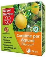 BAYER BAYCOTE AGRUMI CONCIME NUTRE 6 MESI DA 700 GRAMMI