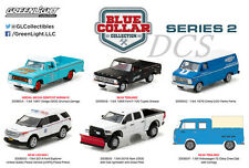 BLUE COLLAR COLLECTION SERIES 2, SET OF 6 CARS 1/64 DIECAST BY GREENLIGHT 35060