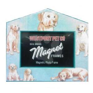 Westport Dog Pet Magnetic Picture Frames VARIOUS BREEDS!