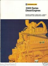 Equipment Brochure - Caterpillar - 3300 Series - Diesel Engine (Eb294)