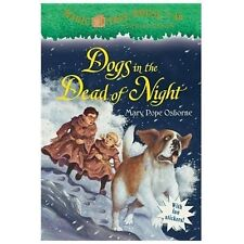 Magic Tree House #46: Dogs in the Dead of Night (A Stepping Stone Book(TM)), Osb