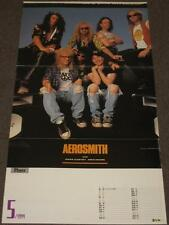 Aerosmith with Mike Myers & Dana Carvey Very Cool Rare Import Poster