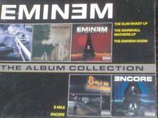 EMINEM - ALBUM COLLECTION Slim Shady & Marshal Mathers LP, Show, 8 Mile, Encore