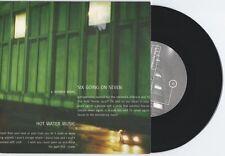 "Hot Water Music/Six Going On Seven ""split"" 7"" OOP Chuck Ragan Against Me!"