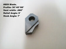 """3 angle blade #809 profile:30°/45°/60° /.080"""" seat width/special 9° relief angle"""