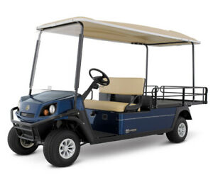GOLF  BUGGY -CUSHMAN SHUTTLE 2 ELECTRIC - 48VOLT - 2 SEATER - FLAT BED NEW
