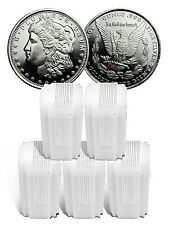 Lot of 5 Rolls - Highland Mint Morgan Dollar Design 1/2 oz Silver Round SKU47771
