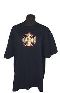 Vintage Jesse who? West Coast Choppers Long Beach T Shirt Short Sleeve Mens XL