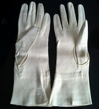 Vintage hand stitched  kid (Doe) gloves  unused.medium size