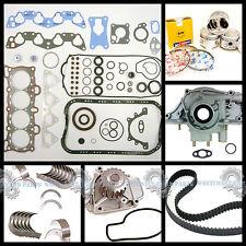 88-91 Honda Civic Si EX CRX Si 1.6 D16A6 SOHC Master Engine Rebuild Kit