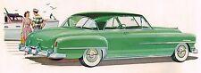 1951 Chrysler WINDSOR Brochure / Pamphlet: CLUB COUPE,NEWPORT,TRAVELER,T&C WAGON