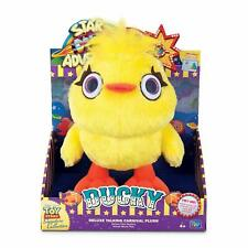 Disney Pixar Toy Story Signature Collection Ducky Carnival Plush Movie Replica