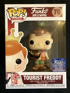 Funko POP! Hollywood Exclusive Tourist Freddy W/Protector #70 Mint