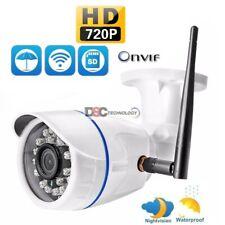 1x Wireless WIFI IP Camera 720P Onvif Outdoor Security Waterproof IR NightVision