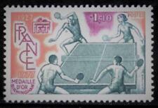 TIMBRE 1961 NEUF XX LUXE - 50 ANS DE LA FEDERATION FRANCAISE DE TENNIS DE TABLE