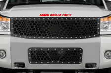 Custom Steel TOP Grille MARINE CAMO Kit for 2008-2014 Nissan Titan Armada Grill