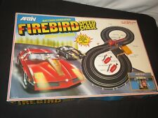 VINTAGE SLOT CAR ARTIN FIREBIRD SPEED CHASE ROAD RACING SET COMPLETE