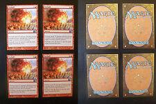4x Fireball - M11 - 2011 Core Set