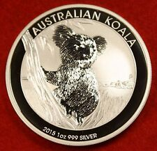 2015 AUSTRALIAN  KOALA DESIGN 1 oz .999% SILVER ROUND BULLION COLLECTOR COIN