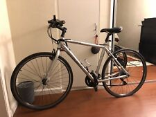TREK 7.2FX Hybrid Road Bike, Upgraded LED lights, Phone Mount, Saddle