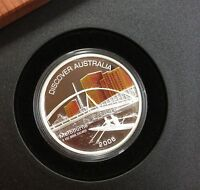 2006 discover Australia 1 oz silver proof coin perth mint - Melbourne