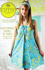 Amy Butler Patterns Mini Dress Tunic and Tops Ab-039md. HUGE Saving