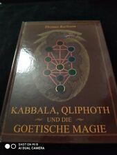 Kabbala Qliphoth Und Die Goetische Magie Thomas Karlsson HB Red Dragon ed