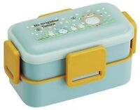 Skater fluffy lunch box two-stage 600ml Totoro sky blue PFLW4 F/S