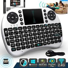 i8 Wireless Mini Keyboard White 2.4G Multi AirMouseTouchpad For Android TV Box