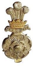 WW1 THE YORKSHIRE HUSSARS CAP BADGE BI METAL