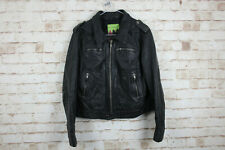 River Island Leather Jacket size Uk 12