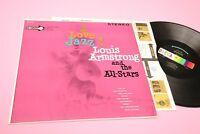 LOUIS ARMSTRONG LP I LOVE JAZZ ORIG US '60 EX DECCA STEREO TOP AUDIOFILI !!!!!!!