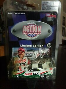 JOHN FORCE CASTROL GTX 1997 FORD MUSTANG FUNNY CAR 1/64 ACTION