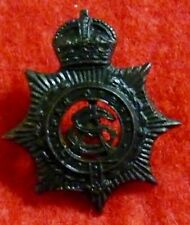 Australian Army Service Corps Oxidised  collar Badge WW2