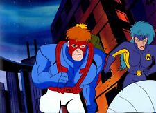 Wild C.A.T.s JIM LEE TV Series Animation Hand Painted Cel & Copy Background 1994