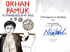 Orhan Pamuk~PERSONALLY SIGNED~A Strangeness In My Mind~1st/1st + PHOTOS!!