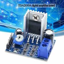 TDA2030A Audioverstärkermodul Leistungsverstärkerkarte 6-12V18W Elektronikm P8B9