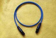 Mogami 2534 XLR-M (male) to XLR-F (female) HiFi Balanced Audio Cable -Blue-12 Ft